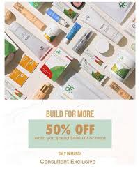 "HAPPY MARCH! ""BUILD FOR MORE"" promotion... - Adriana Olson - Arbonne  Independant Consultant 