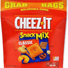 cheez it snack mix clic grab bag 6 oz