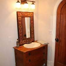 spanish style bathroom mirror
