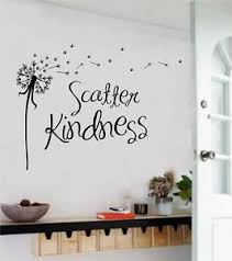 Scatter Kindness Love Vinyl Decal Wall Art Stickers Letters Word Home Decor Ebay