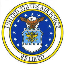 Amazon Com United States Air Force Retired Car Decal Us Military Gifts Usaf Products Automotive