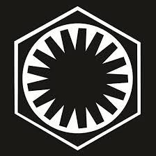 Amazon Com Cove Signs Star Wars First Order Die Cut Premium Vinyl Decal White 4 Automotive