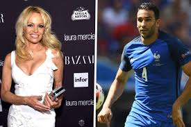Pamela Anderson dating Adil Rami - who is the Baywatch actress & Marseille  footballer boyfriend? | Goal.com