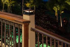 4x4 Led Deck And Fence Post Cap Light With 6x6 Post Adapter 1 Watt Super Bright Leds