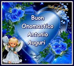 Buon Onomastico Antonio Auguri - Sulle ali dei sogni