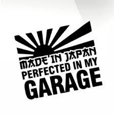 Made In Japan Car Decal Sticker Stickyart