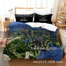 minecraft comfortable bedding three