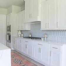 Blue Picket Tiles Design Ideas