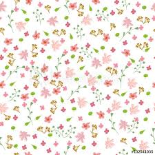 flower pattern abstract simple flowers