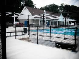 Chain Link Pool Fencing Starsh Swimming Pool Fence Manufacturing Co