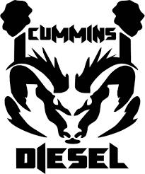 Image Cummins Quot Logo Decal Sticker Jobspapa Com Cummins Diesel Truck Decals Dodge Logo