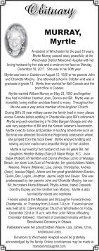 Obit – Myrtle Murray_28. December 2017.indd | The Chesterville Record