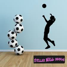Volleyball St001 Sports Icon Wall Mural Vinyl Wall Decal Sticker Swd