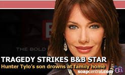 Hunter Tylo files lawsuit over son's drowning death | The Bold and the  Beautiful on Soap Central