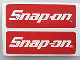 Amazon Com 2 Snap On Tools Badge Die Cut Decals Automotive