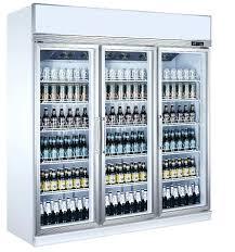 upright coolers refrigerators green