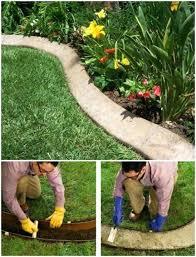 diy garden edging ideas image of