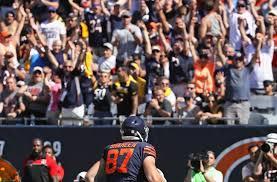 Chicago Bears tight end Adam Shaheen shows off full skill setChicago Bears  tight end Adam Shaheen shows off full skill set