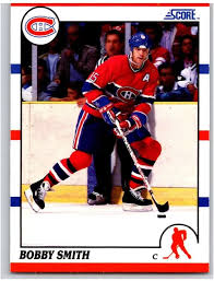 Amazon.com: Hockey NHL 1990-91 Score #61 Bobby Smith #61 NM Canadiens:  Collectibles & Fine Art