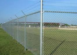 Chain Link Mesh Security Fence And Temporary Fence