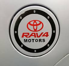 Amazing Car Fuel Gas Tank Cap Stickers Adhesive Graphic For Toyota Black Ebay