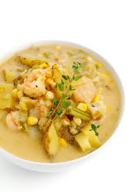 Lightened Seafood Chowder - The Lemon Bowl®