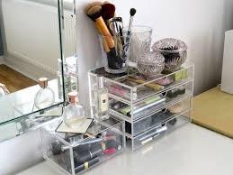 muji acrylic case 2 drawers large