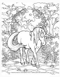 Unicorn Coloring Pages Online Unicorn Coloring Pages Horse