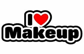I Love Makeup Sticker For Car Bike Van Buy Online In Lithuania At Desertcart