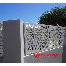 laser cut garden screen decorative