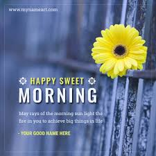 creat hd image of good morning wishes