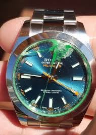 rolex change to sapphire crystal