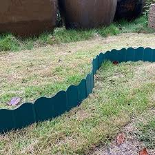 Fence Garden Decoration Free Bending Lawn Edge Patio Outdoor Plant Boundary Small Fence Amazon Co Uk Kitchen Home