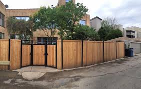 I G Landscaping Cedar Wood Fence With Metal Frame Facebook