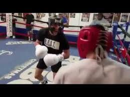 Boxing prodigy teofimo Lopez sparring ...