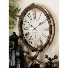 antiquitie de paris round wall clock