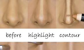 how to contour your nose to make it