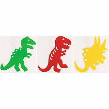 Large Dinosaurs Peel And Stick Boys And Girls Wall Appliques