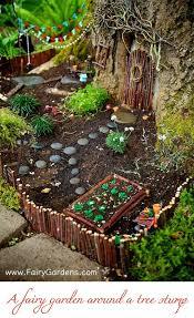 3 magical fairy garden houses mini