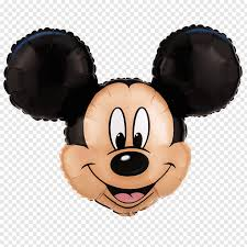 Mickey Mouse Minnie Mouse Mylar balloon Birthday, minnie mouse head  sillouitte PNG