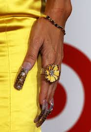 Ivy Queen Nail Pictures - Ivy Queen Ugly Nail Art