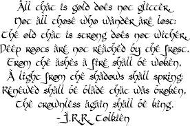 Tolkien Quote Wall Decal Lord Of The Rin Buy Online In Bahamas At Desertcart