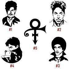 Prince Rogers Nelson Vinyl Decal Sticker Car Window Wall Laptop American Singer Ebay