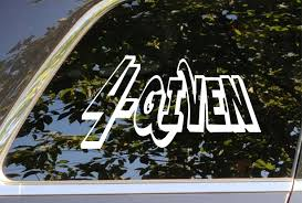 Forgiven 4 Given Christian Vinyl Decal Sticker Accessory For Automotive Car Cell Computer Cups Glass Mugs Phone Window Christian Decals Vinyl Decals