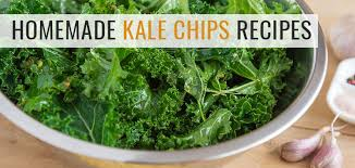 delicious homemade kale chips recipe