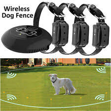 Kd660 Waterproof Rechargeable Pet Electronic Fence System 1 Dog Shock Collar Us For Sale Online Ebay