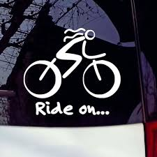 2020 12 7 11 5cm Bike Sticker Bicycle Sport Biking Cycling Car Window Sticker Sign Vinyl Waterproof Decals From Xymy777 1 69 Dhgate Com