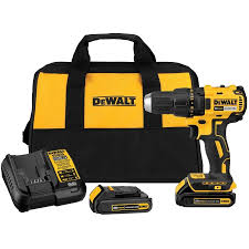 Dewalt Cordless Compact Drill Kit 1 2 Home Hardware