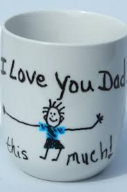diy painted father s day mugs this