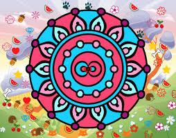 Dibujo de mandalas en el bosque majico pintado por en Dibujos.net ...